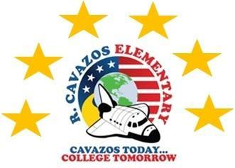cavazos logo with 6 stars