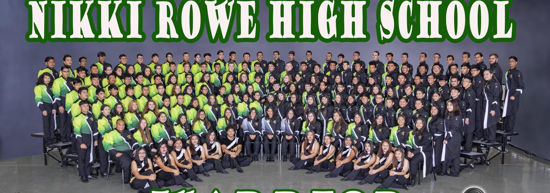 2018-2019 Nikki Rowe High School Warrior Band