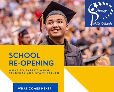 Cheney School District: School Re-Opening Newsletter Thumbnail Image