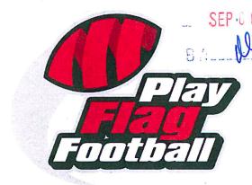 Play Flag Football Logo