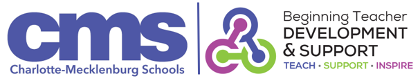 CMS Beginning Teacher Development & Support logo