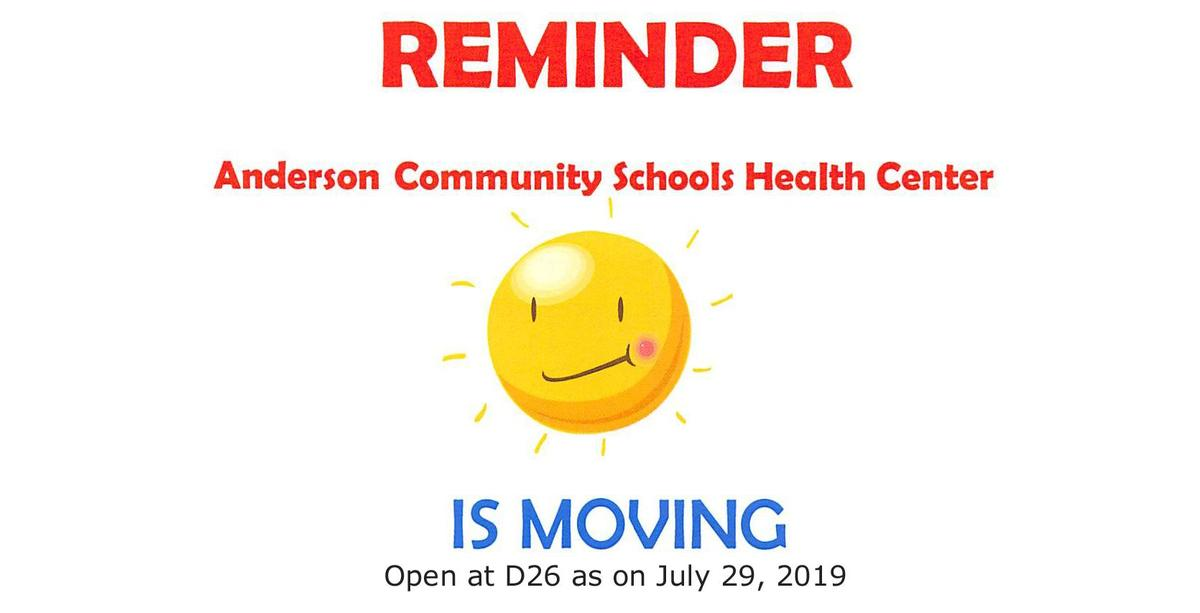 flyer for Health Center move July 2019