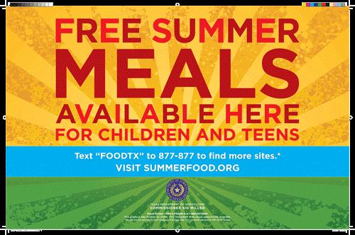 Summer Meals for Kids Program Thumbnail Image