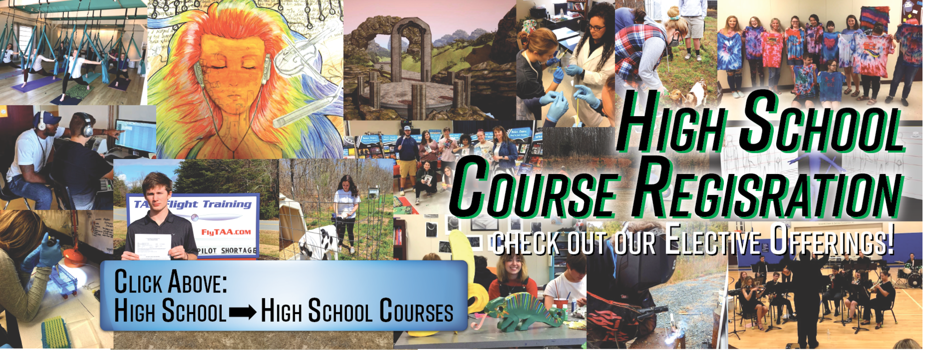 High School Course Registration is Open