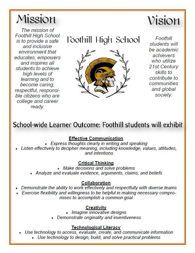 FHS Vision and Mission Statements