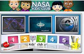 nasa kids club icon/link