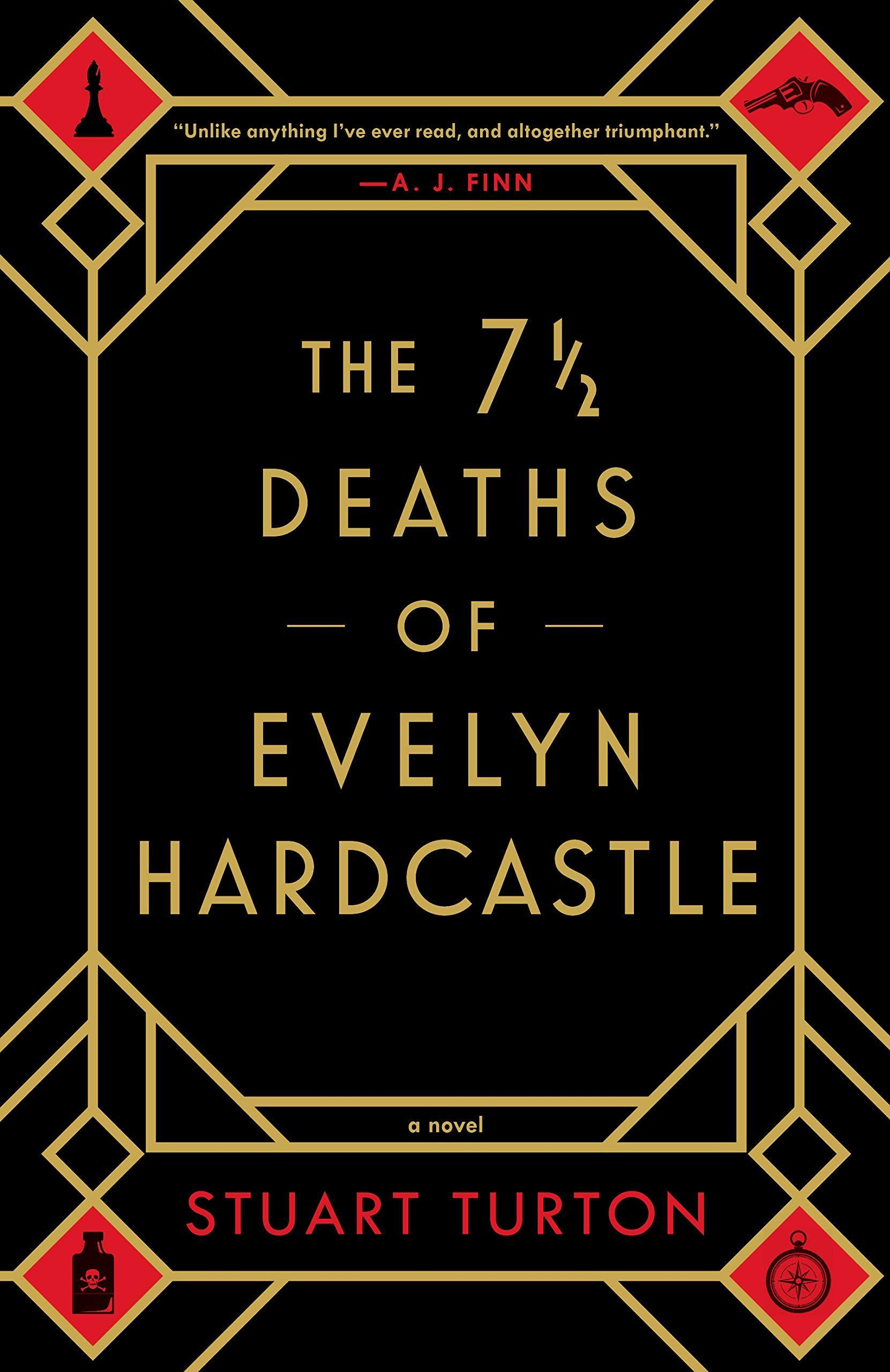 The 7 and a Half Deaths of Evelyn Hardcastle Cover