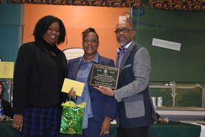 McComb School District Recognizes Kennedy's Teacher of the Year.