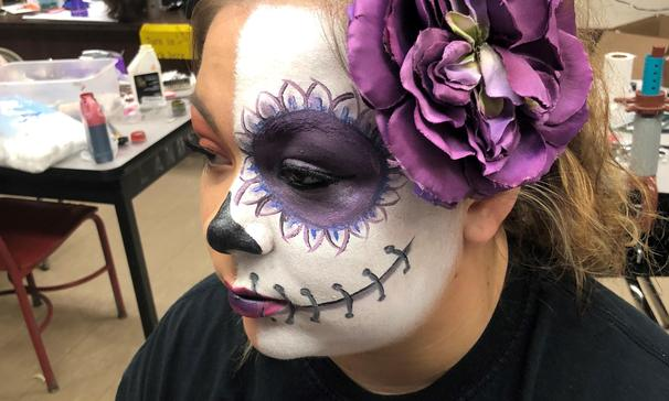 Cosmetology Halloween Make-up