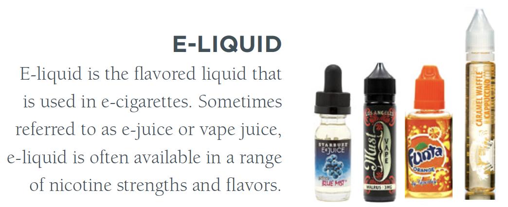 Picture of e-liquids