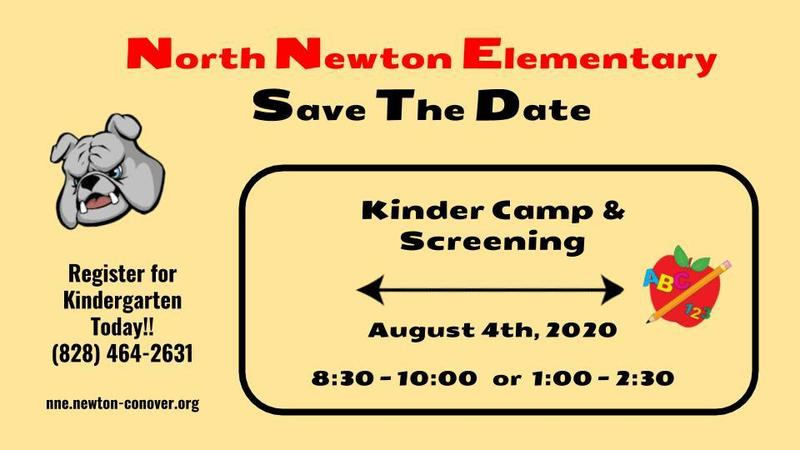 Kindergarten Camp Flyer