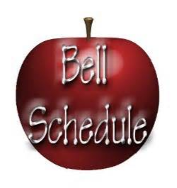 Apple with Bell Schedule words