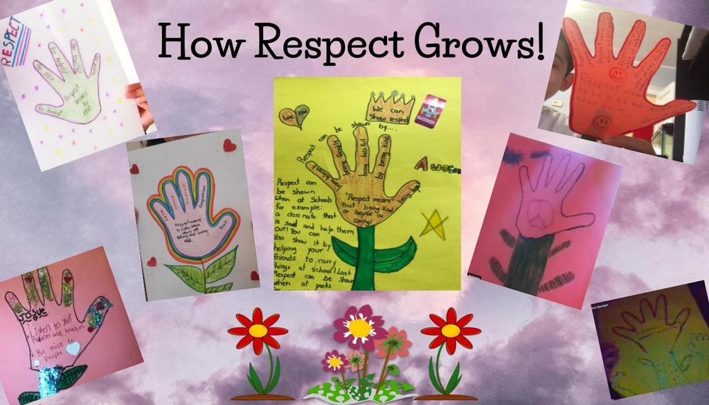 How Respect Grows! Collage