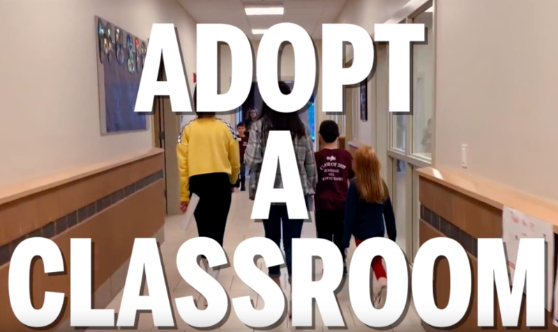 Adopt a Classroom Video - Check it out! Thumbnail Image