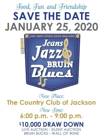 Jeans Jazz & Bruin Blues Draw Down