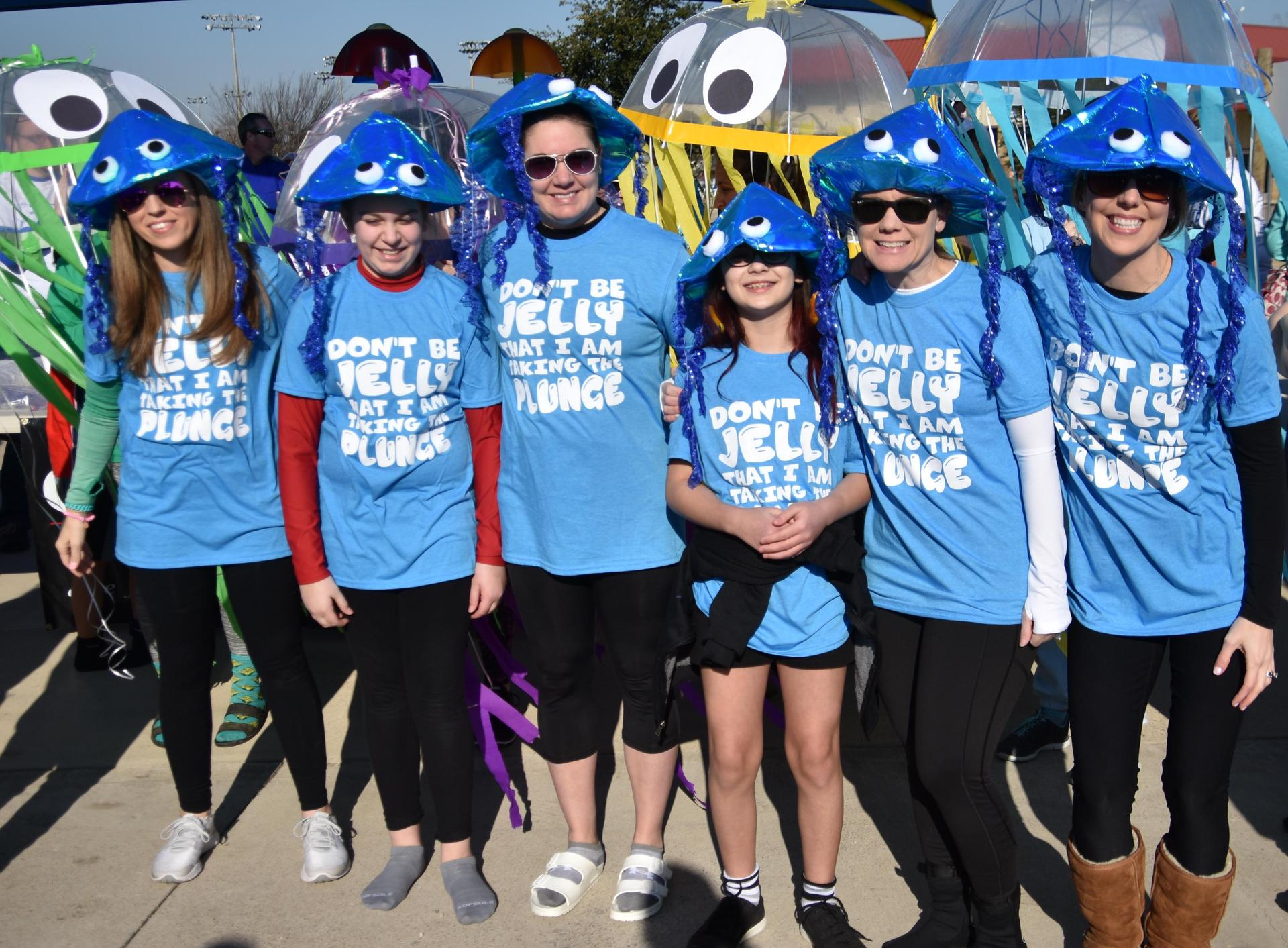 Fine Arts Academy students and staff won the costume contest at the BRRRewer Bear Plunge on Jan. 26.