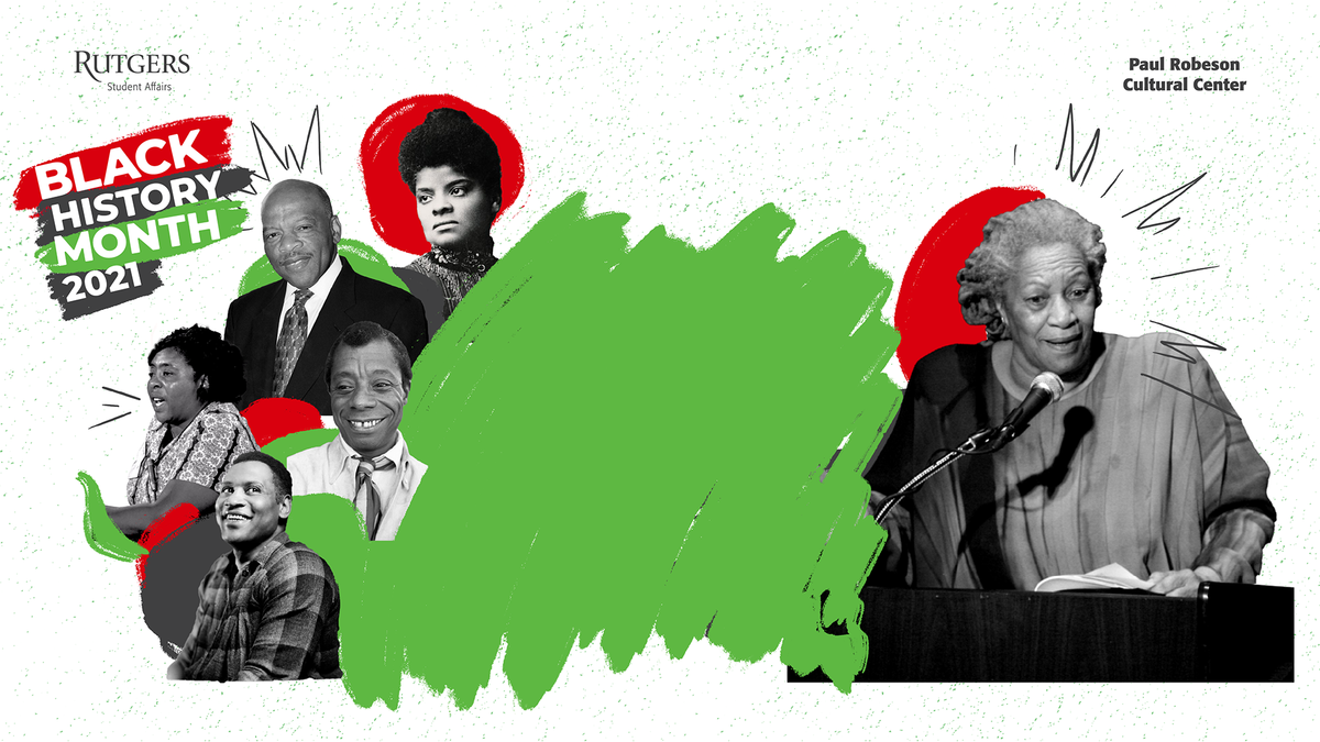 BLM Zoom Background with historical black figures