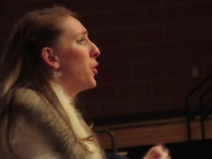Mrs. Morken, music teacher