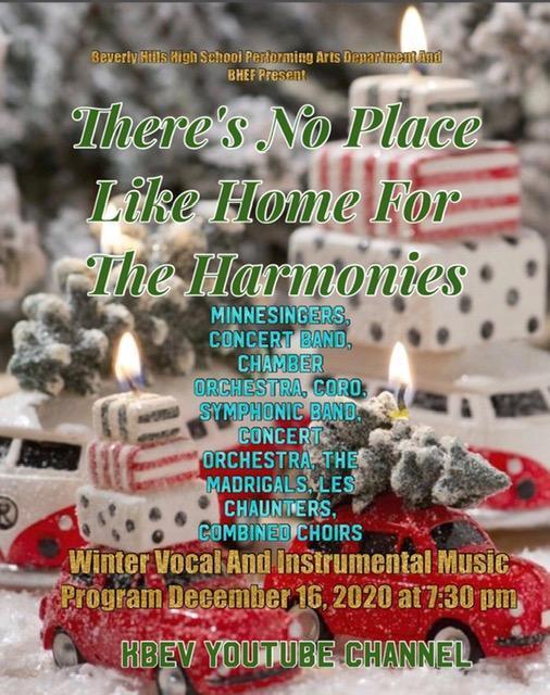BHHS 7:30PM VOCAL & INSTRUMENTAL MUSIC CONCERT