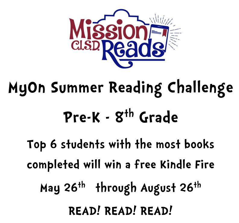 MyOn Summer Reading Challenge Featured Photo