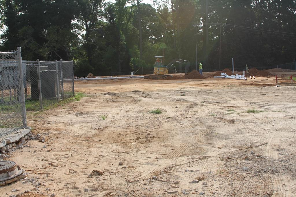 Ready for foundation to be poured