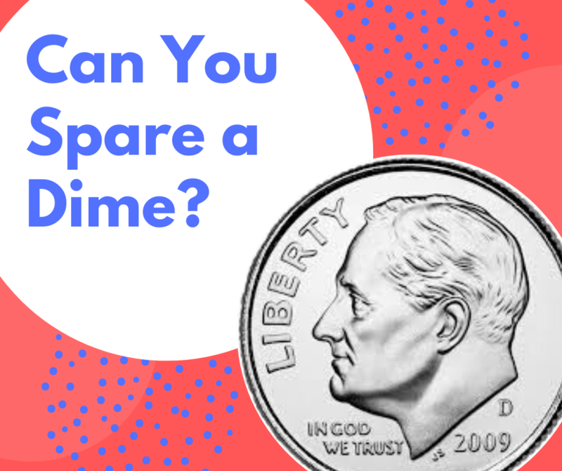 Can You Spare a Dime? Featured Photo