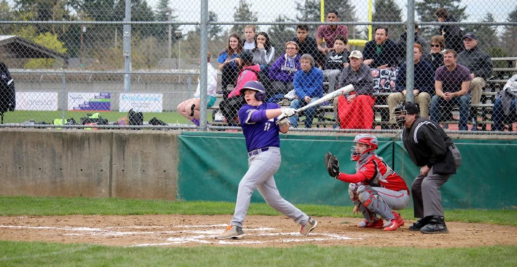 PCS baseball game on April 7, 2017 versus Corbett
