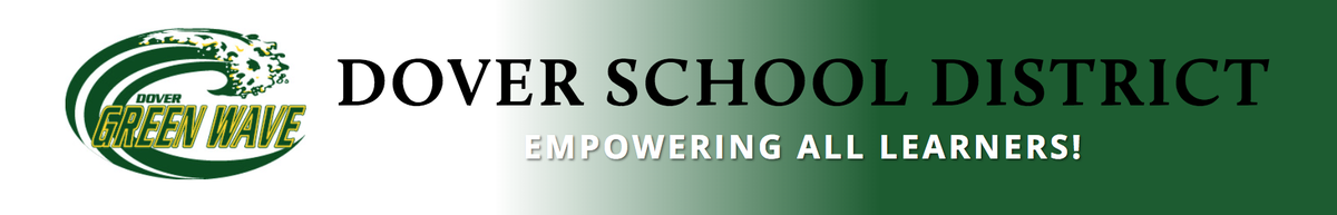 Dover School District letterhead