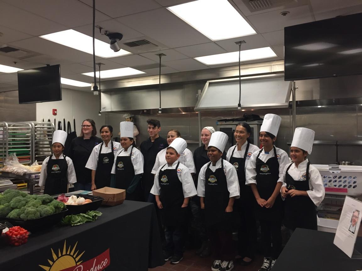 MBA Culinary with middle schools of PYLUSD
