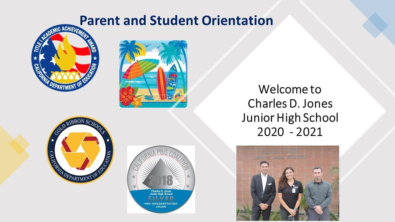 Student Parent Orientation