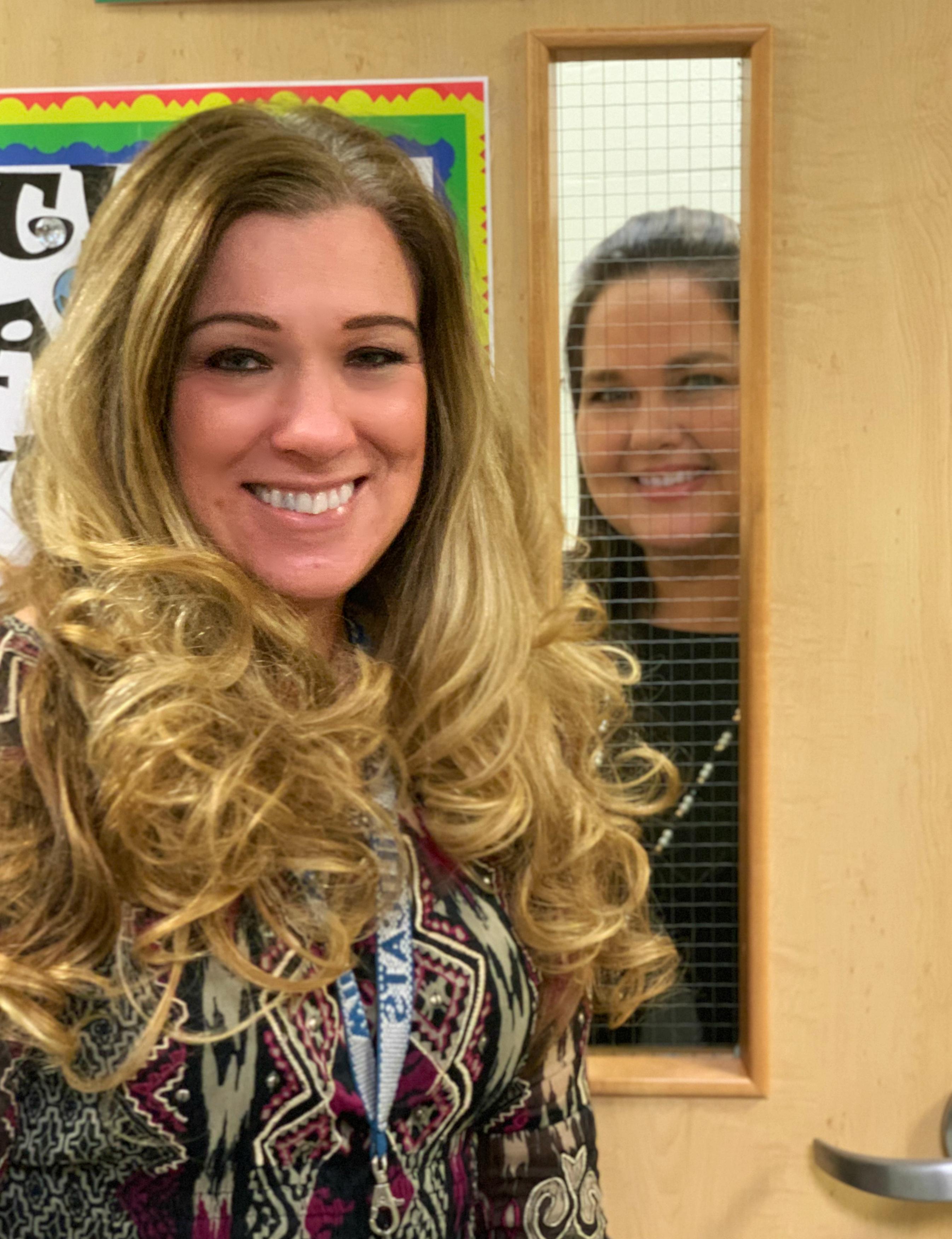 Left - Mrs. Crowhurst, PASS Teacher; Right - Mrs. Neely, PASS Paraprofessional