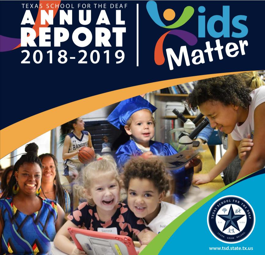 Annual Report Cover Picture