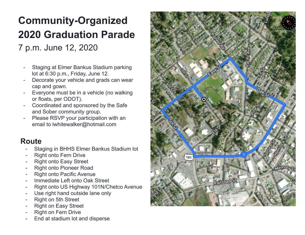 parade route maps