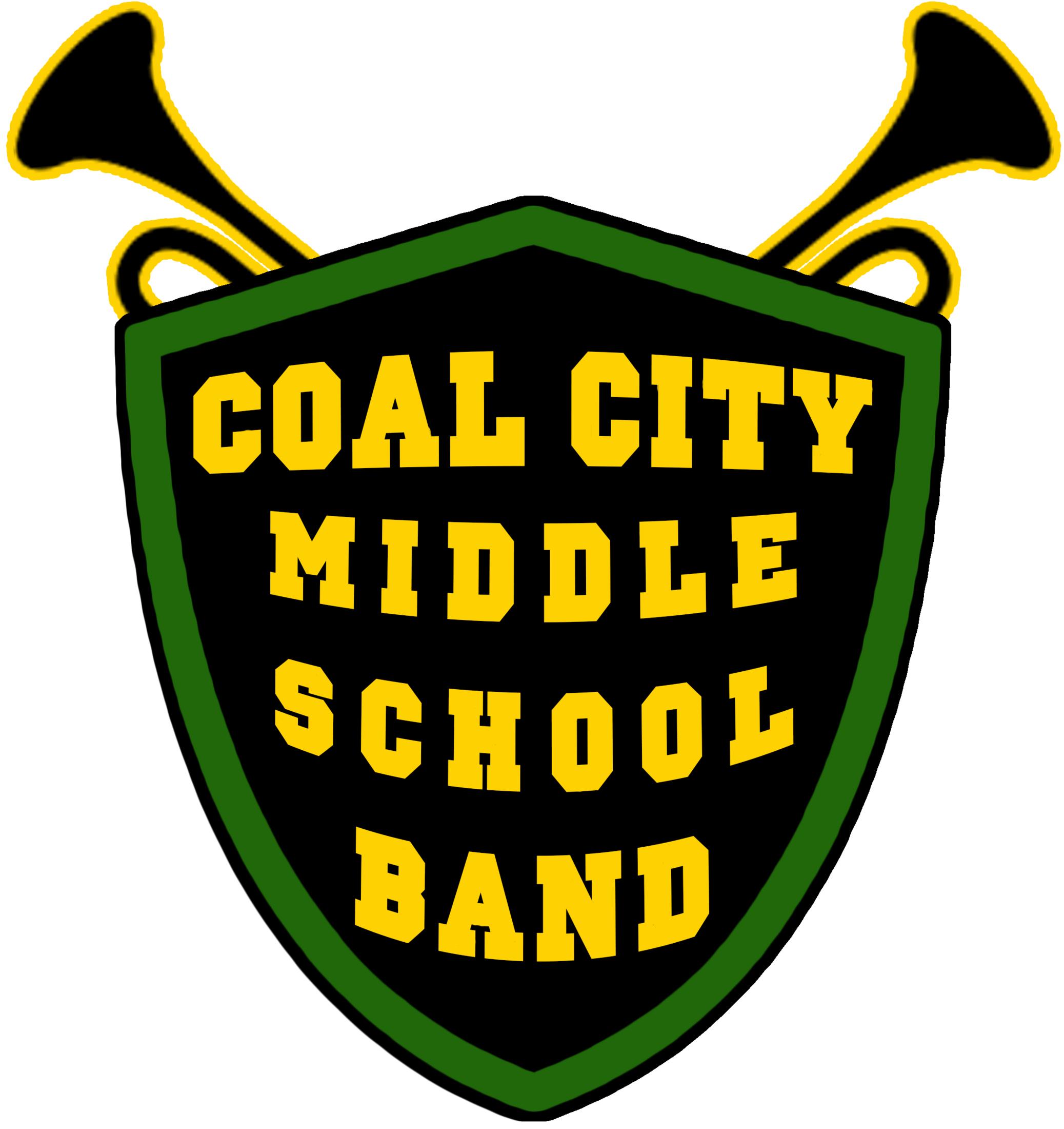 Coal City Middle School Band logo