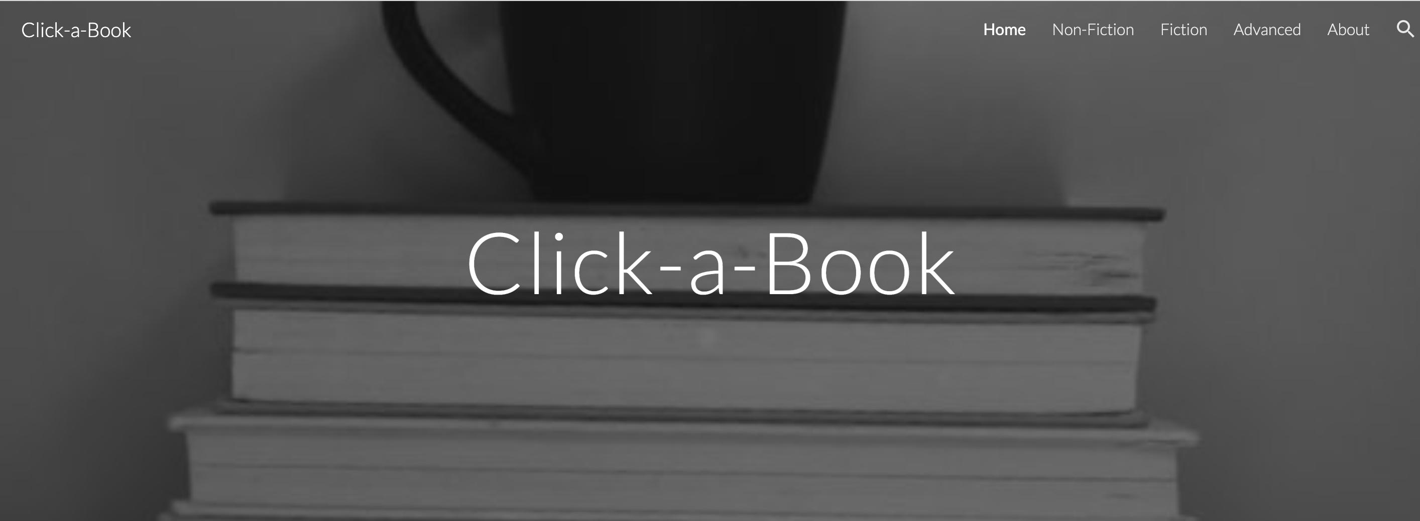 click a book website icon