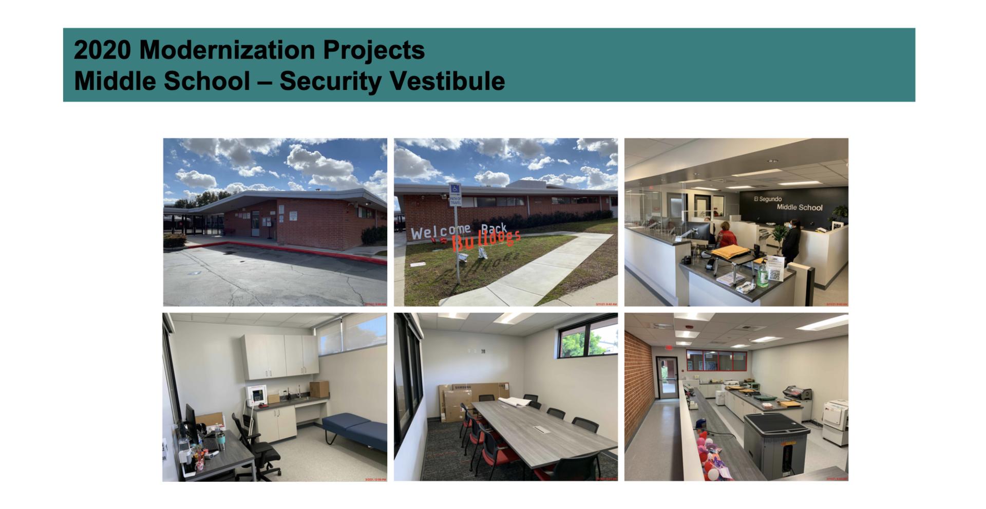 ESMS 2020 Upgrades