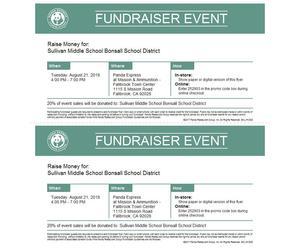 Fundraiser Flyer, please print