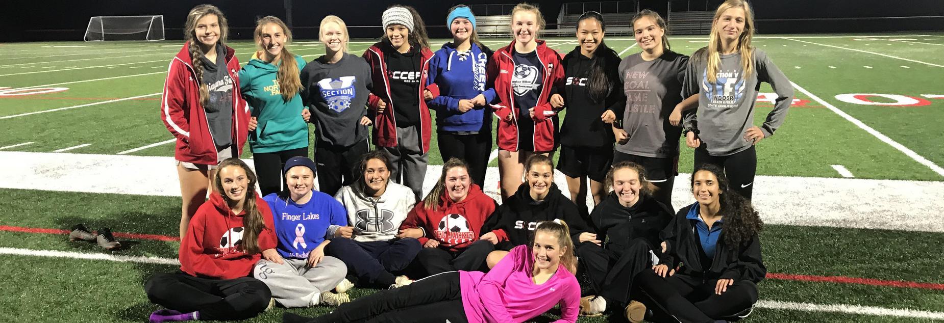 18-19 girls soccer team