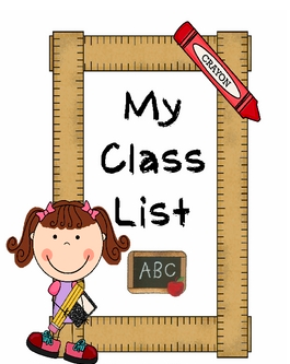 2019-2020 CLASS LIST Thumbnail Image