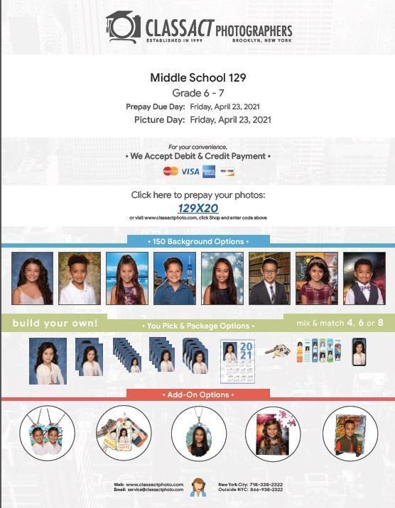 6th-7th grade prepay notice