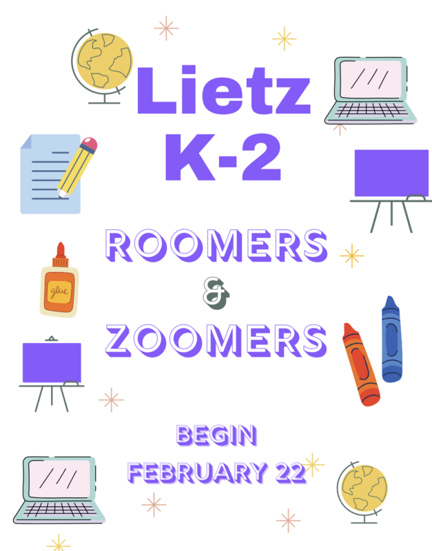 K-2 Roomers and Zoomers