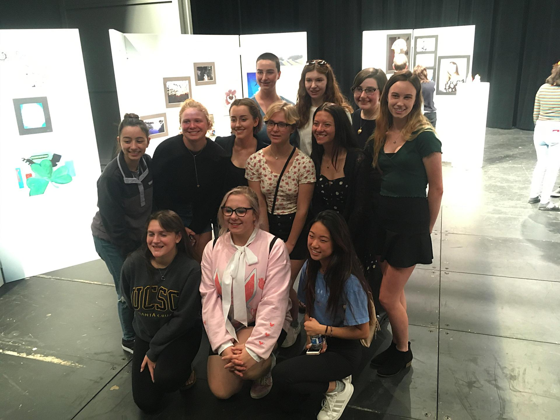 Image of 2019 Senior IB Students are Art Exhibition