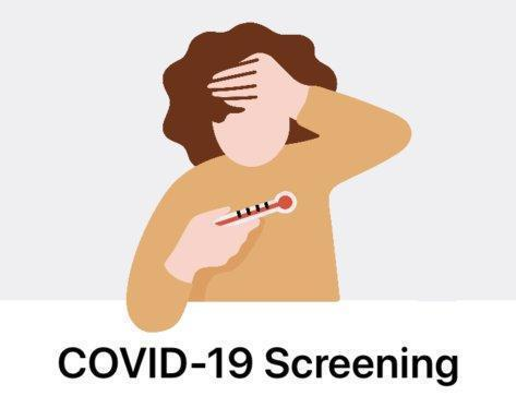 COVID-19 Screening Required Prior To Entering Valentine School Thumbnail Image