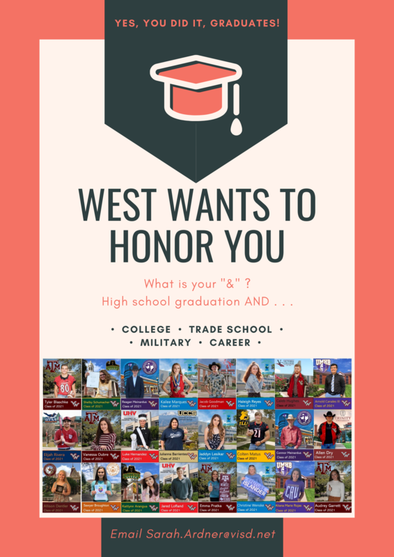 Victoria West High School Highlighting Seniors' Plans Post Graduation Thumbnail Image