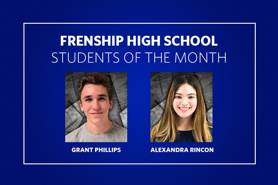 Tenth Grade Students of the Month