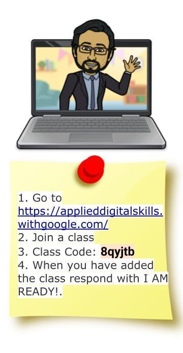 Google Drawing with information regarding how to add my Technology Course