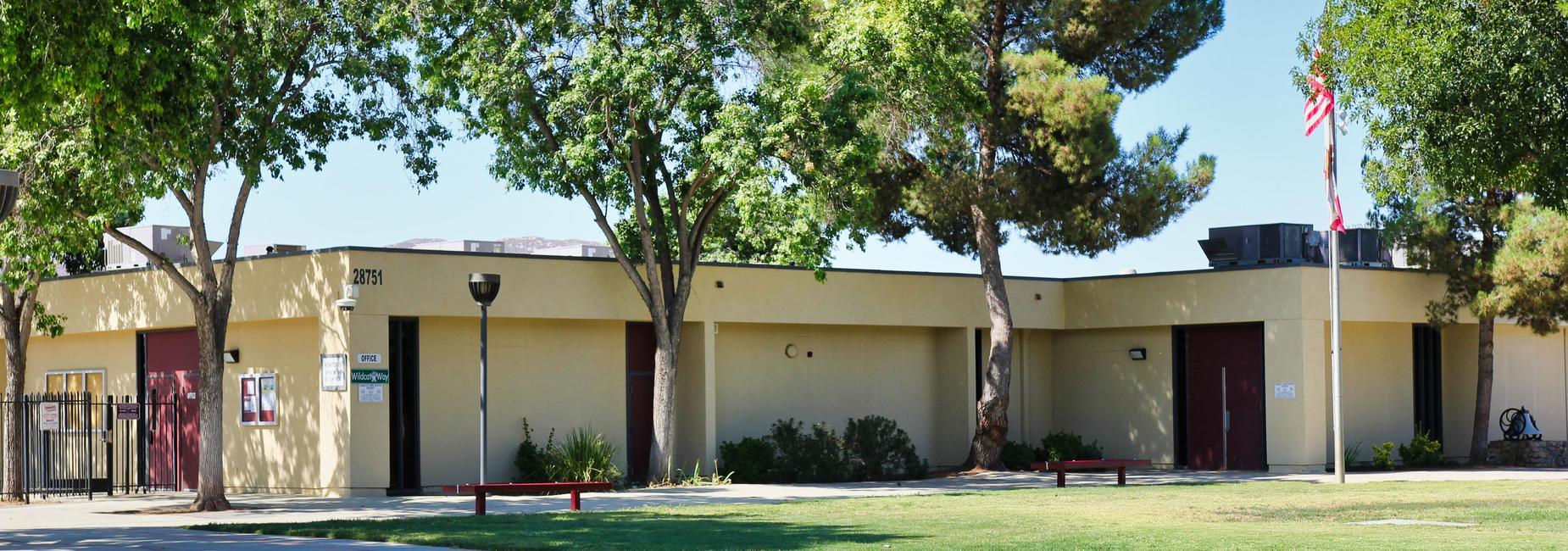 Winchester Elementary school entrance