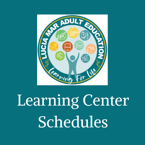 Learning Center Schedules