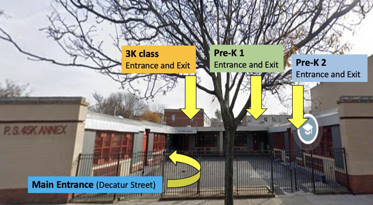 Annex Building Exit