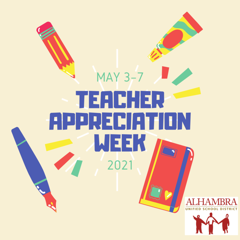 Teacher Appreciation Week (May 3-7) Featured Photo